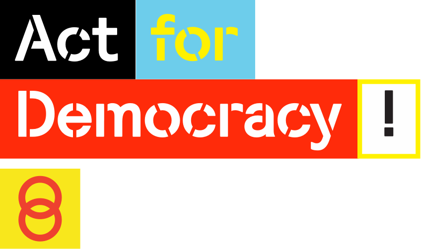 Act for Democracy - Amsterdam 2018, artists and thinkers