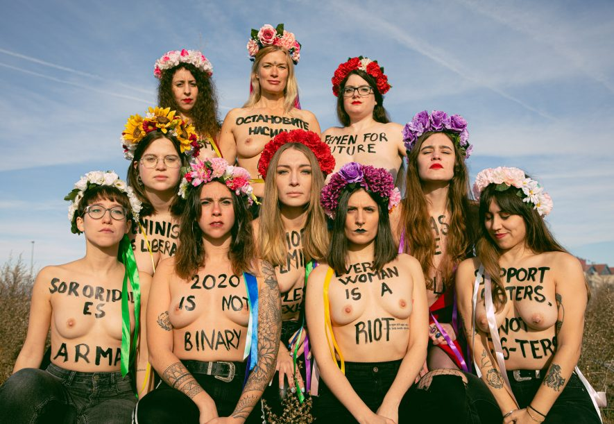 Women in protest
